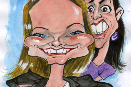 The warring sisters of Congress