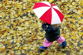 Summer is over. Get ready for a nice warm (and wet) autumn