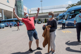 Sunseekers and cigarette runs Europe starts to reopen borders