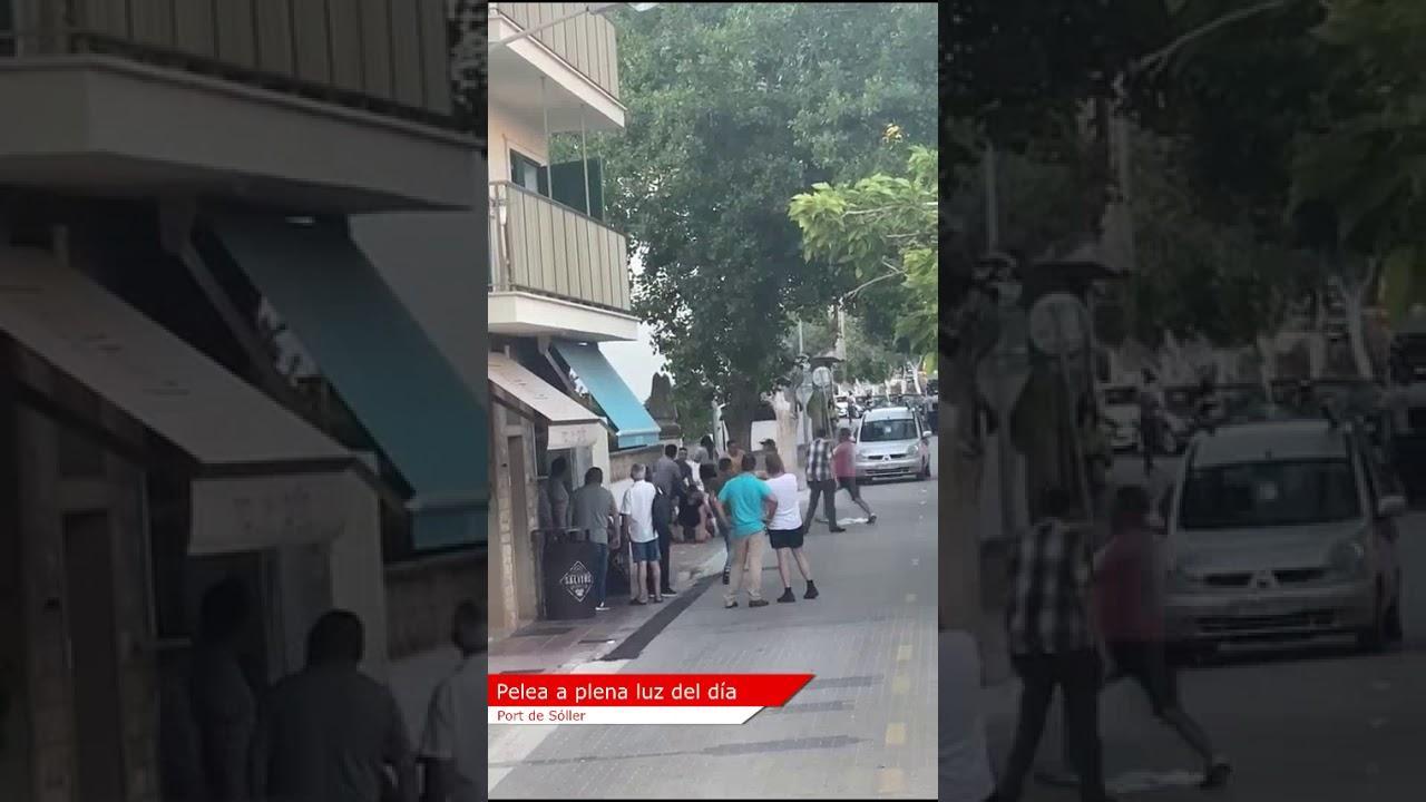 Soller street fight