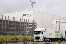 Almost 700 workers at a German slaughterhouse test positive for COVID-19