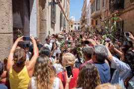 Minorca president concerned about images of fiesta crowds