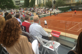 The clash of the tennis legends begins in Palma