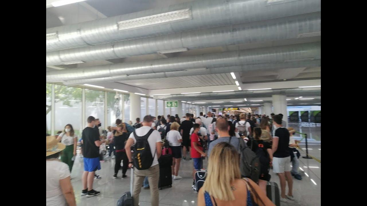 Chaos at Palma Airport