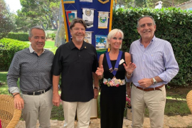 Rotary welcomes a new president