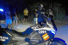 60 fined for partying in Genoa district of Palma.