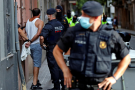 Police detain two Algerians in anti-terrorism operation in Barcelona