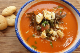 Gazpacho andaluz is Spain's greatest and most travelled cold soup