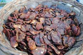 Sun-dried tomatoes are great on flavour