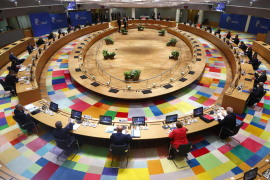 EU leaders deadlocked over COVID recovery plan after a day of haggling