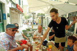 Seasonal workers without work in Majorca
