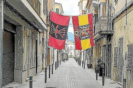 Fined 2,000 euros for displaying Francoist flags
