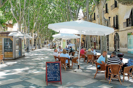 Over 180 increased terraces in Palma will have to go