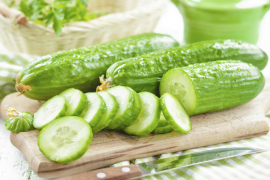 Cucumbers really are extremely cool