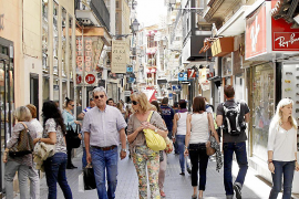 Foreign tourist spending in the Balearics continues to rise