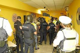 Police crackdown on nightlife venues in Majorca