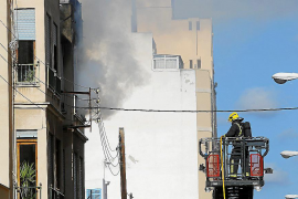Palma fire drama as building is evacuated