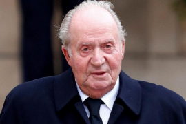Departure of King Juan Carlos headline news