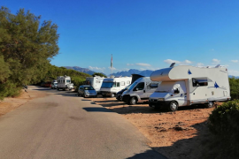 Overrun by motor homes