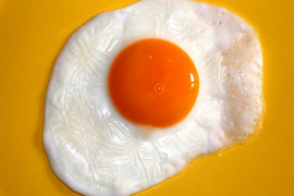 How to fry perfect egg