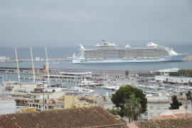 Cruise shipping in the Balearics has risen by 16%