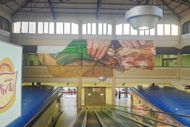 'Banksy of Mallorca' mural