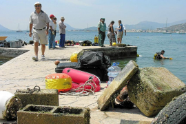 Impact assessment for Puerto Pollensa moorings