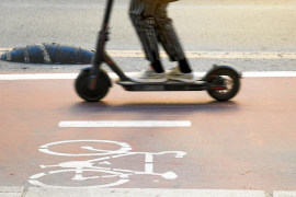 Regulating electric scooters in Palma