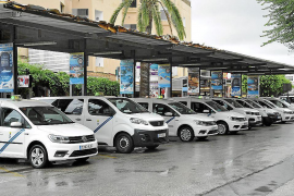 Alcudia taxi drivers' business down 90%