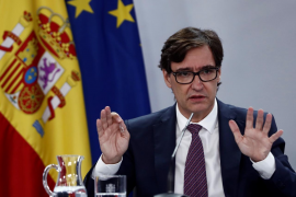 Spain's health minister says vaccination could start in December