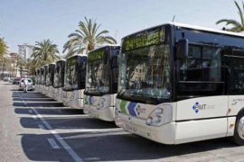 Bus services slashed during strikes