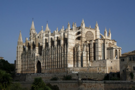Building of Palma Cathedral started earlier than 1306