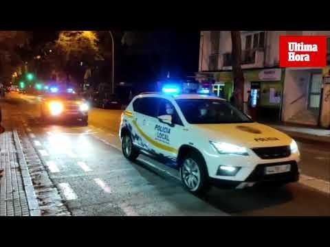 Police patrol 'Covid Hot Zones'