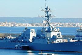 US warship bound to strike ISIS in Palma