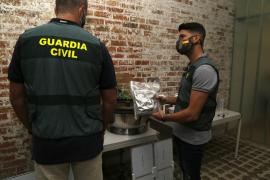 "Guardia Civil seize ""express"" marijuana cultivation kit"