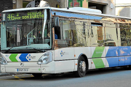 Palma bus passenger numbers down 50%