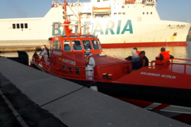 Fifteen migrants picked up sixty miles offshore