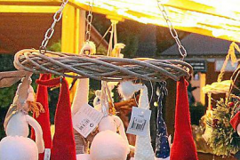 Charity Christmas market in Palma