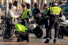 Police crackdown on scooter users