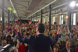 Socialist leader tells Inca rally that PSOE will win the general election