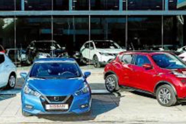 Second-hand car sales plummet