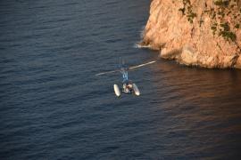 Briton flying highin Majorca