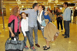 Palma airport busy at Christmas