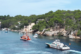 Maritime Safety and Guardia Civil craft