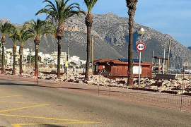 Town hall admits delay with Puerto Pollensa pedestrianisation