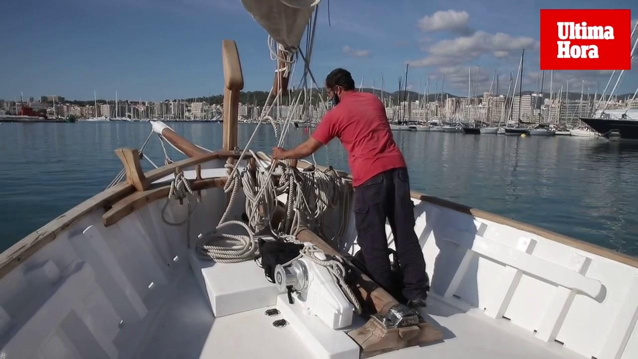 Sailing the old way in Mallorca