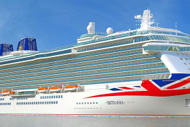 Britain's finest sailing for Palma