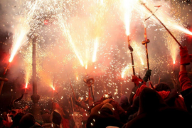 The night of fires: Sant Antoni Eve in Majorca