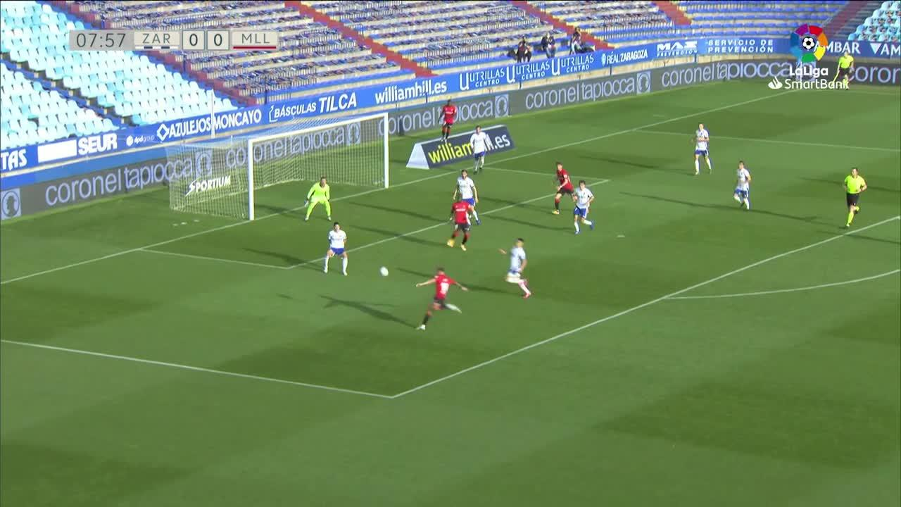 Summary of the match between Zaragoza and Real Mallorca
