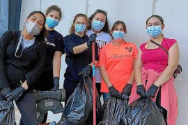 Volunteers offer to clean up Soller